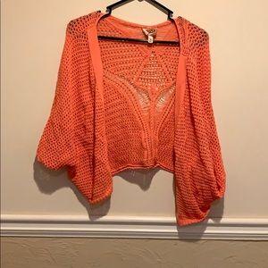 Coral Mudd cardigan